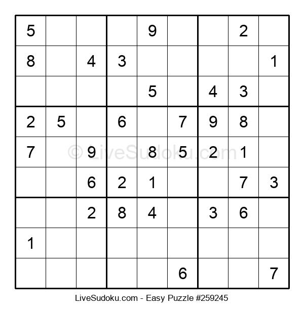 Beginners Puzzle #259245