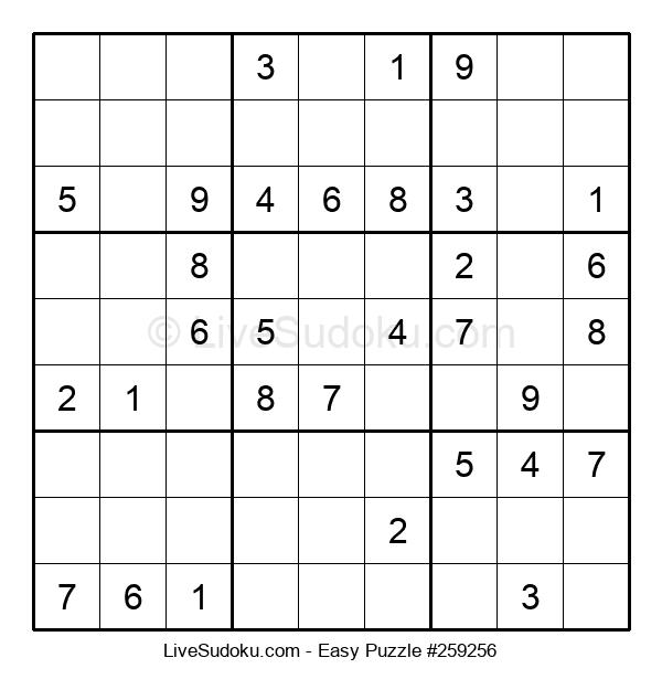 Beginners Puzzle #259256