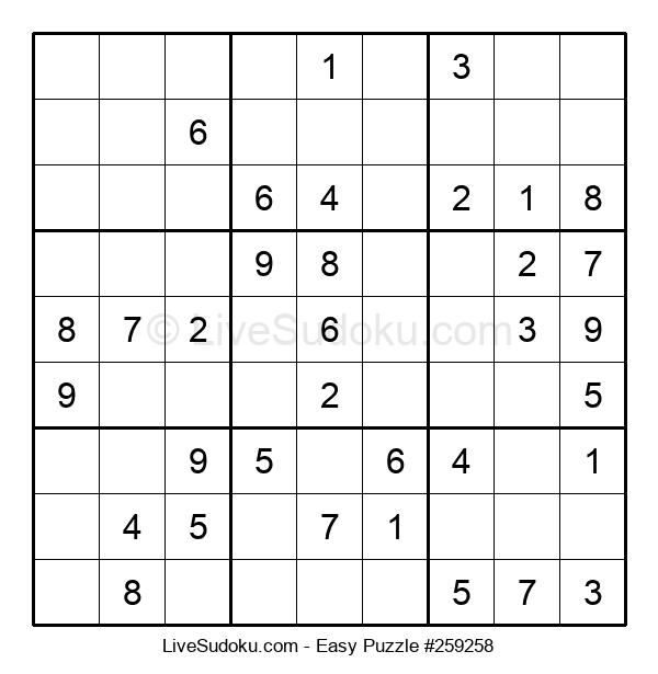 Beginners Puzzle #259258