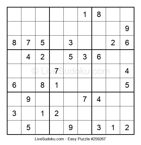 Beginners Puzzle #259267