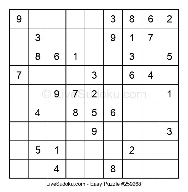 Beginners Puzzle #259268