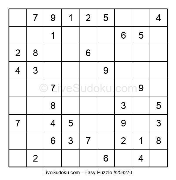 Beginners Puzzle #259270