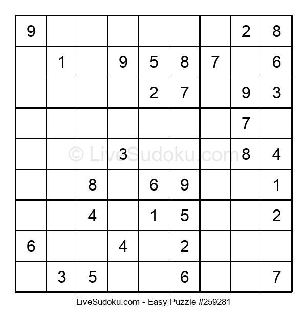 Beginners Puzzle #259281