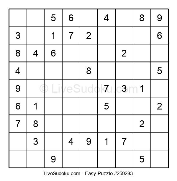 Beginners Puzzle #259283