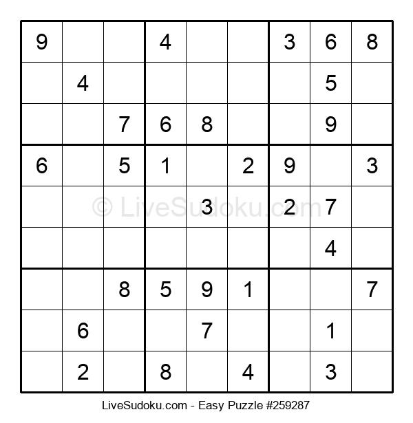 Beginners Puzzle #259287