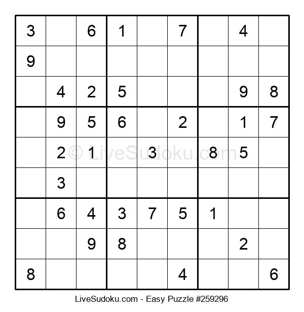 Beginners Puzzle #259296
