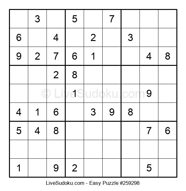 Beginners Puzzle #259298