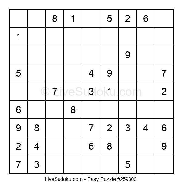 Beginners Puzzle #259300