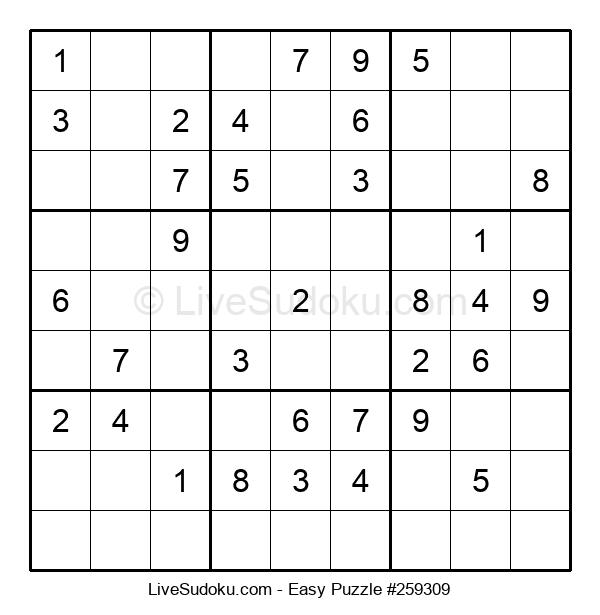 Beginners Puzzle #259309