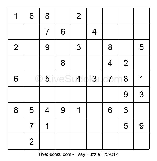 Beginners Puzzle #259312