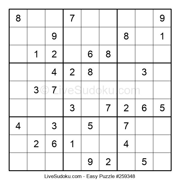 Beginners Puzzle #259348