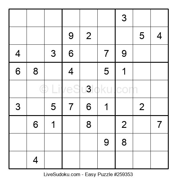 Beginners Puzzle #259353