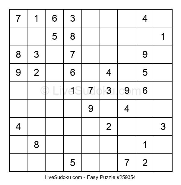 Beginners Puzzle #259354