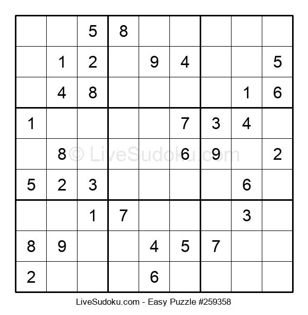 Beginners Puzzle #259358