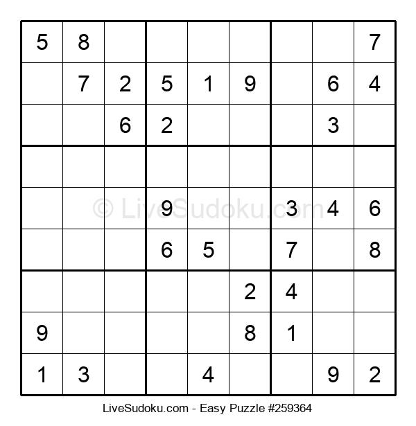 Beginners Puzzle #259364