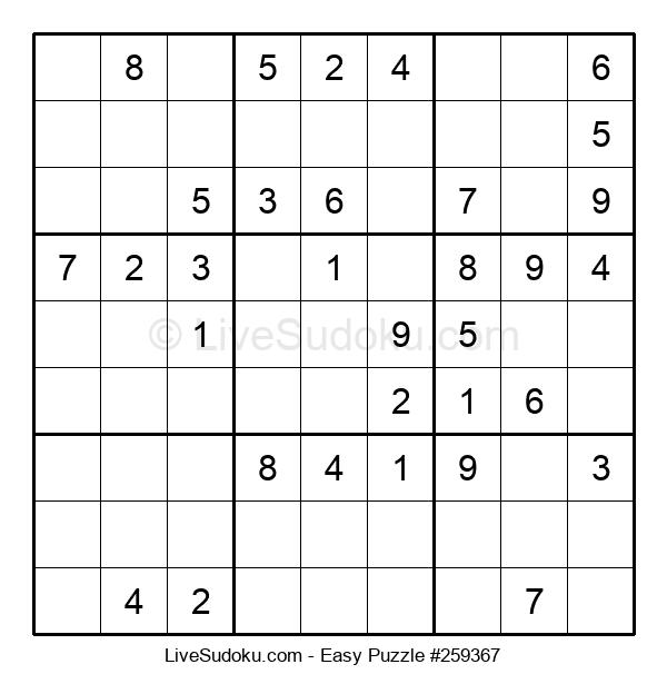 Beginners Puzzle #259367