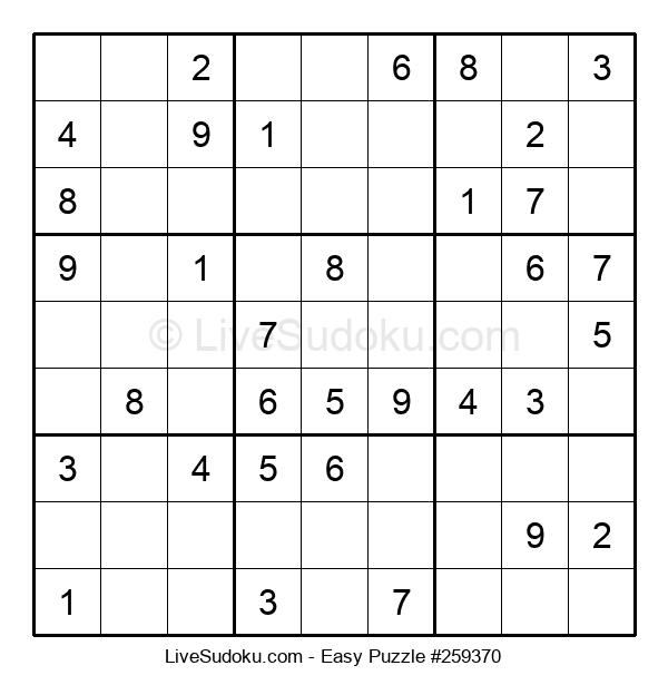 Beginners Puzzle #259370