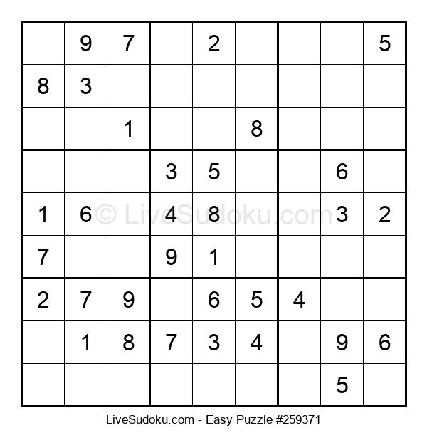 Beginners Puzzle #259371
