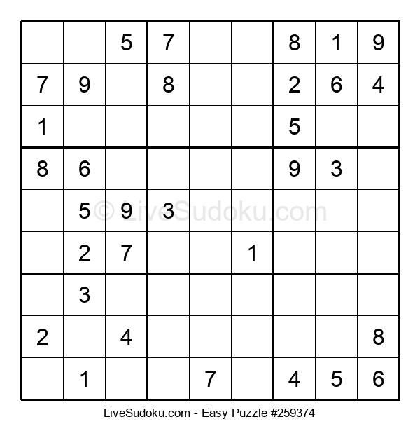 Beginners Puzzle #259374