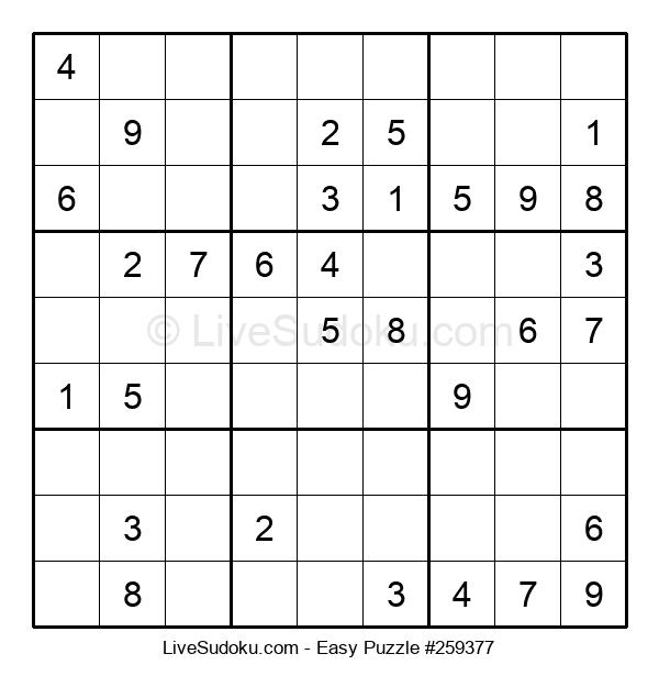 Beginners Puzzle #259377