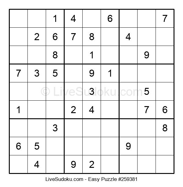 Beginners Puzzle #259381
