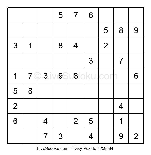 Beginners Puzzle #259384