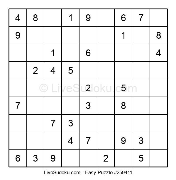 Beginners Puzzle #259411