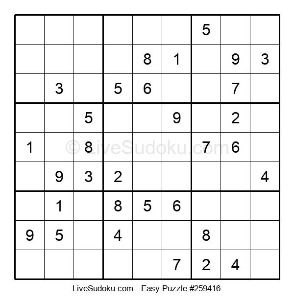 Beginners Puzzle #259416
