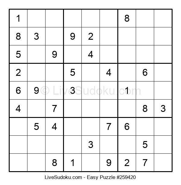 Beginners Puzzle #259420
