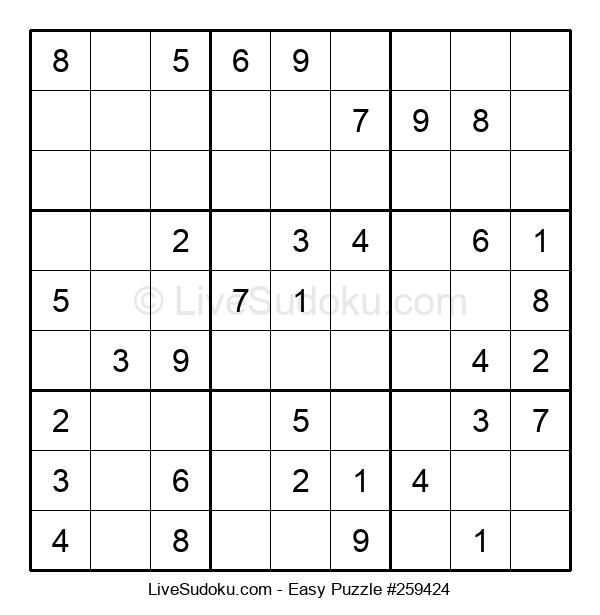 Beginners Puzzle #259424