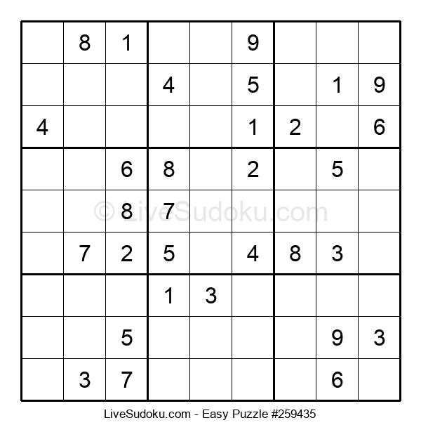 Beginners Puzzle #259435