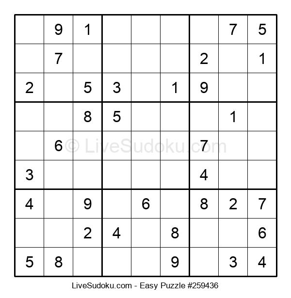 Beginners Puzzle #259436