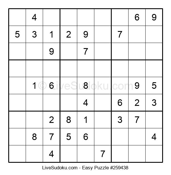 Beginners Puzzle #259438