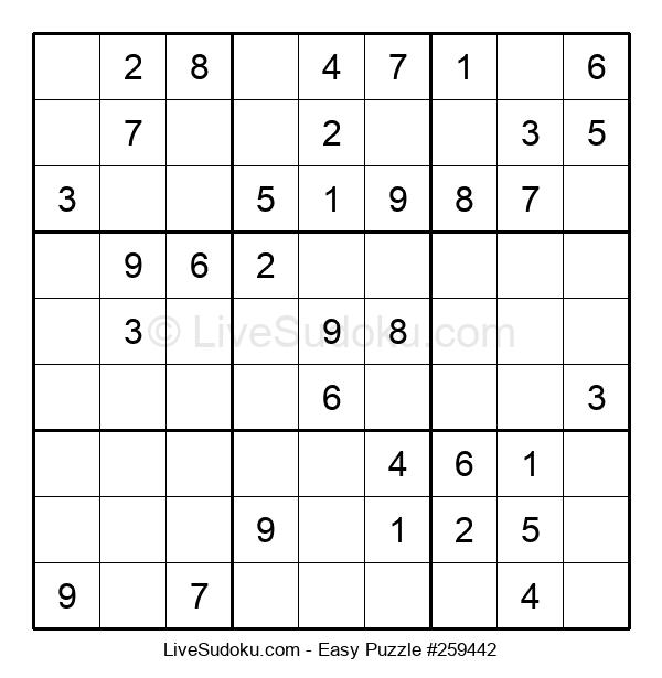 Beginners Puzzle #259442