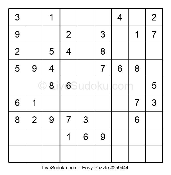 Beginners Puzzle #259444