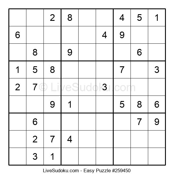 Beginners Puzzle #259450
