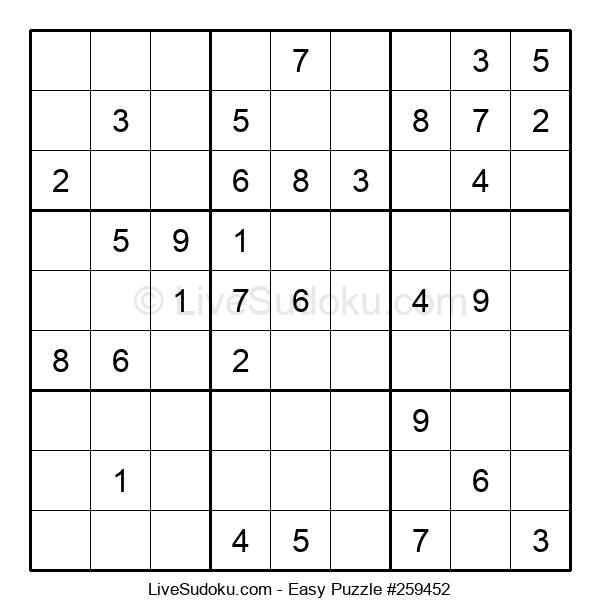 Beginners Puzzle #259452
