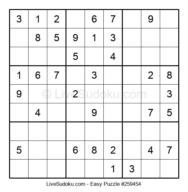Beginners Puzzle #259454