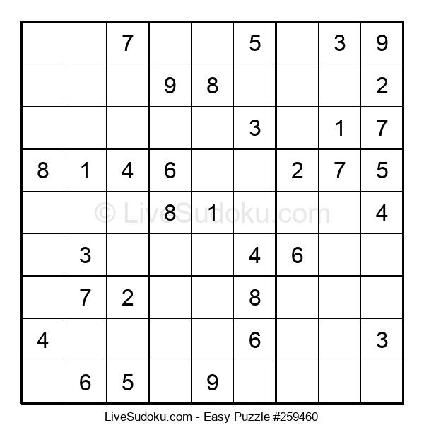 Beginners Puzzle #259460