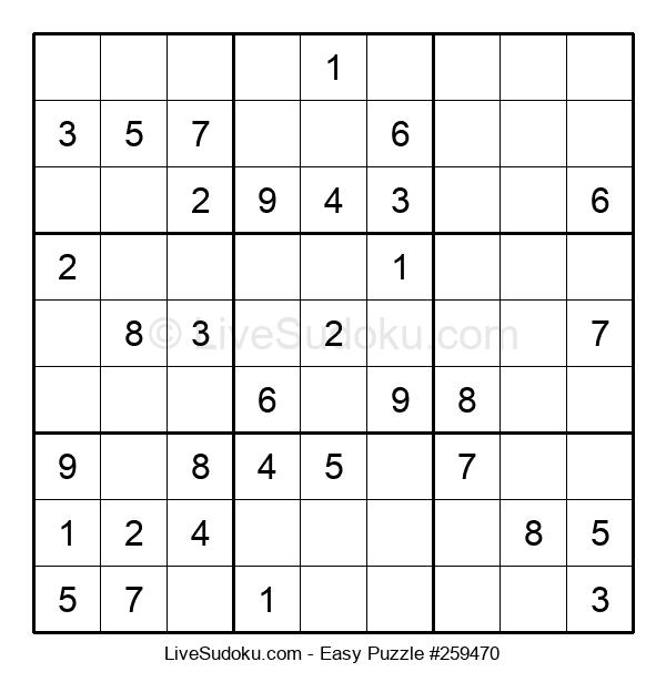 Beginners Puzzle #259470