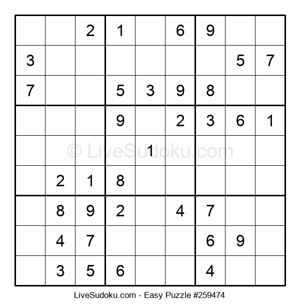 Beginners Puzzle #259474