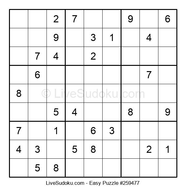Beginners Puzzle #259477