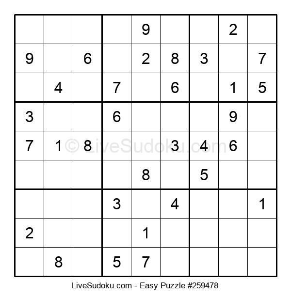Beginners Puzzle #259478