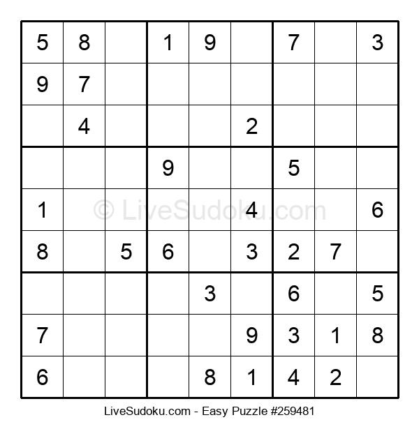 Beginners Puzzle #259481