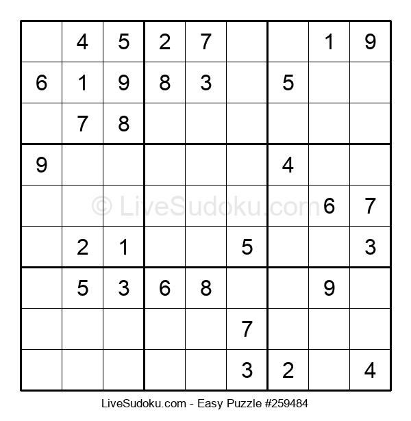 Beginners Puzzle #259484