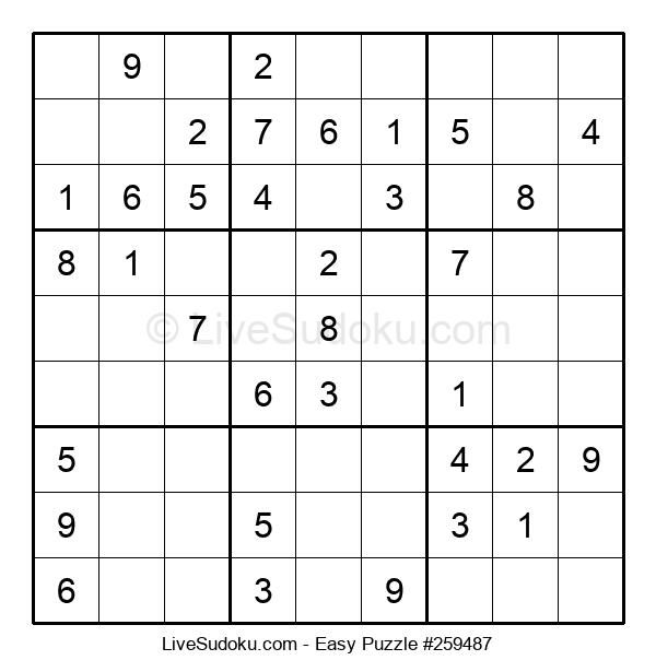 Beginners Puzzle #259487