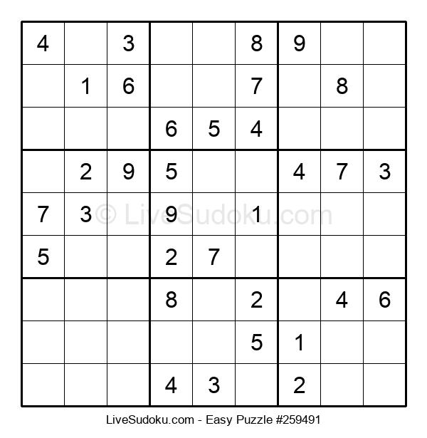 Beginners Puzzle #259491
