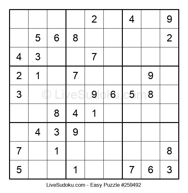Beginners Puzzle #259492
