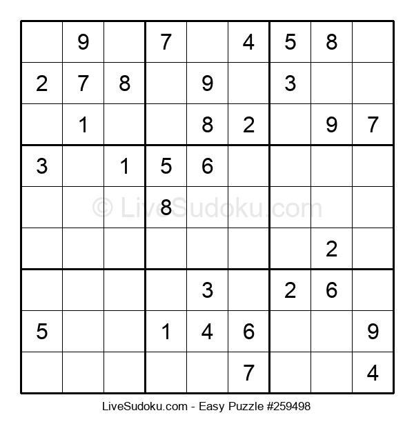 Beginners Puzzle #259498