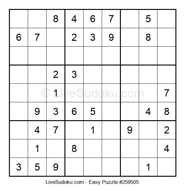 Beginners Puzzle #259505